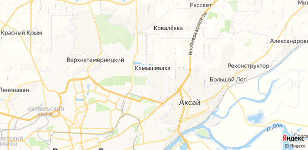 Камышеваха на карте