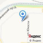 Юность на карте Ярославля