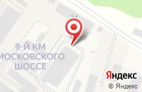 Схема проезда до компании Сады Аурики в Нагорном