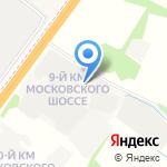 Сады Аурики на карте Ярославля