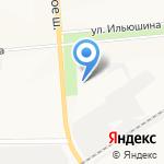 Городская поликлиника №4 на карте Вологды