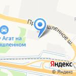 Синерджи логистикс на карте Ярославля