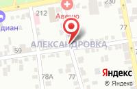 Схема проезда до компании Эльтаро в Александровке