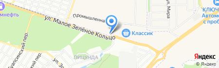 Интер Фудс на карте Ростова-на-Дону