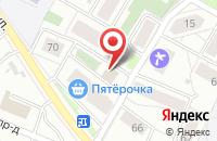 Схема проезда до компании Протеин в Ярославле