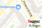 Схема проезда до компании Фантазия в Рязани
