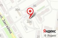 Схема проезда до компании Красноперекопский специальный дом-интернат для престарелых и инвалидов в Ярославле