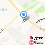 Экспертно-криминалистический центр на карте Ярославля
