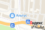 Схема проезда до компании МеталлКомплектЮг в Аксае