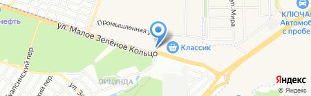 Карнавал+ на карте Ростова-на-Дону