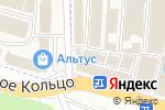 Схема проезда до компании Радиатор в Аксае