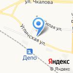 Добрый на карте Ярославля