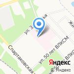 Клиническая больница №7 на карте Ярославля