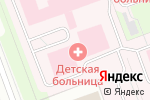 Схема проезда до компании Северодвинская городская детская клиническая больница в Северодвинске