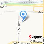 Техника охраны на карте Ярославля