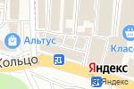 Схема проезда до компании Магазин посуды в Аксае