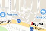 Схема проезда до компании 7-Красок в Янтарном
