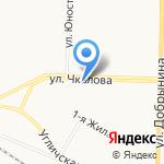 Прайм на карте Ярославля