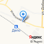 На Пятерке на карте Ярославля