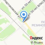 Вечный зов на карте Ярославля
