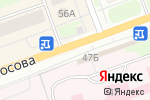 Схема проезда до компании Роспечать в Северодвинске