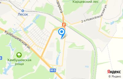 Местоположение на карте пункта техосмотра по адресу г Рязань, р-н Восточный промузел, д 14