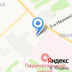 Эврика на карте Ярославля