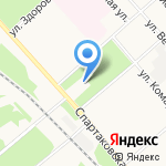 Гамма на карте Ярославля