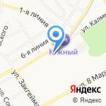 Детский сад №163 на карте Ярославля