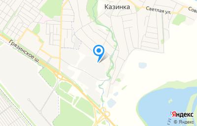 Местоположение на карте пункта техосмотра по адресу Липецкая обл, Грязинский р-н, с Казинка, ул Октябрьская, стр 60А