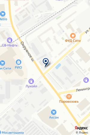 Mitsubishi Club на карте Вологды