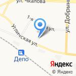Средняя общеобразовательная школа №30 на карте Ярославля