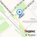 Мировые судьи Заволжского района на карте Ярославля