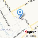 Детский сад №144 на карте Ярославля