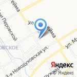 Кенгуру на карте Ярославля