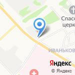 Иваньковский дворик на карте Ярославля