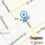 Бумеранг на карте Ярославля
