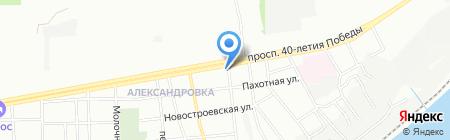 Лео на карте Ростова-на-Дону