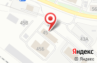 Схема проезда до компании ЯрОбед в Ярославле