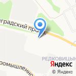 Автомир-Трейд на карте Ярославля