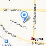 Библиотека №5 на карте Ярославля