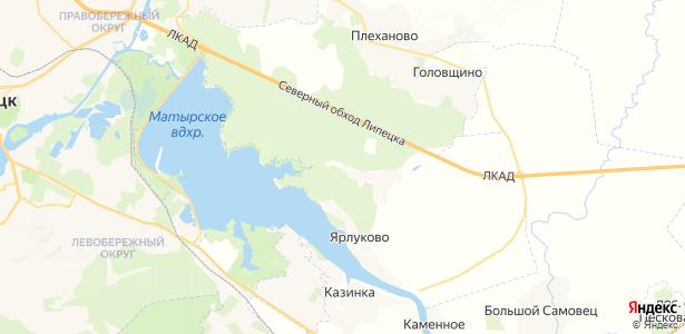 Малей на карте