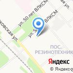 Березка на карте Ярославля