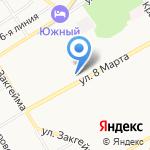 Торговая сеть на карте Ярославля
