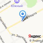 Веселый Мясник на карте Ярославля