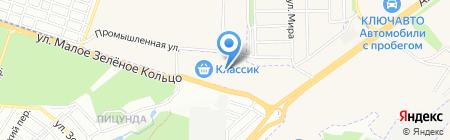 Кирпичный город на карте Ростова-на-Дону