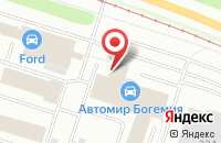 Схема проезда до компании Абель в Ярославле