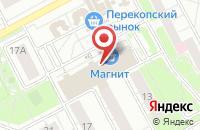 Схема проезда до компании МегаФон в Ярославле