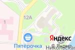 Схема проезда до компании Врачебная амбулатория в Кувшиново