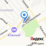 Таланова на карте Ярославля